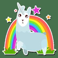 RGB Llamas sticker #787905