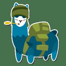 RGB Llamas sticker #787907