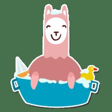 RGB Llamas sticker #787909