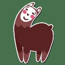 RGB Llamas sticker #787916