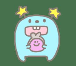 Johnny and Kumatta with friends sticker #789052