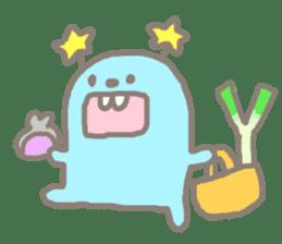 Johnny and Kumatta with friends sticker #789054