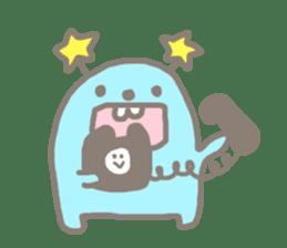 Johnny and Kumatta with friends sticker #789063
