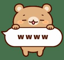 Message animal sticker #789925