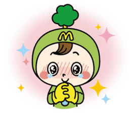 Mimo(Mitake town official local mascot) sticker #790202