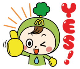 Mimo(Mitake town official local mascot) sticker #790203
