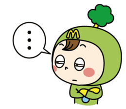 Mimo(Mitake town official local mascot) sticker #790228