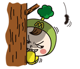 Mimo(Mitake town official local mascot) sticker #790230