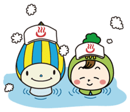 Mimo(Mitake town official local mascot) sticker #790235
