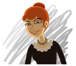 Red Hair Girl Is Back sticker #790775