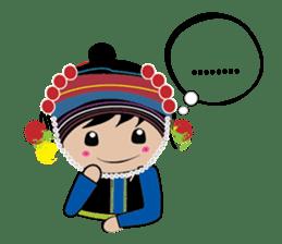Akha-boy Akha-girl sticker #791411