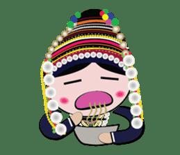 Akha-boy Akha-girl sticker #791420