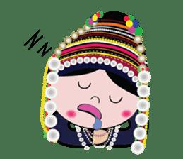 Akha-boy Akha-girl sticker #791421