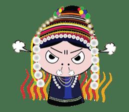 Akha-boy Akha-girl sticker #791423