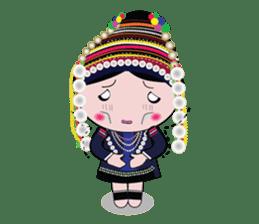 Akha-boy Akha-girl sticker #791425