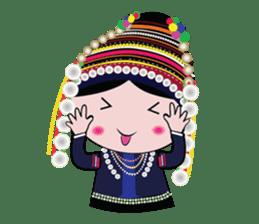 Akha-boy Akha-girl sticker #791434