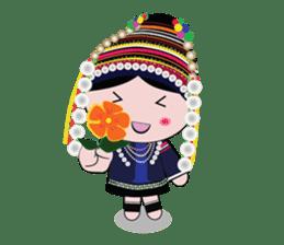Akha-boy Akha-girl sticker #791435