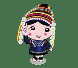 Akha-boy Akha-girl sticker #791436