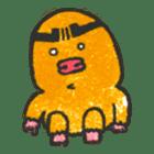 Cave mole man sticker #791960