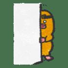 Cave mole man sticker #791975