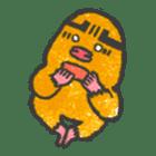 Cave mole man sticker #791981