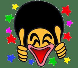 Cheerful Samuel sticker #792692