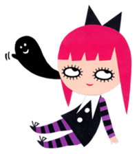 Spooky Monsters sticker #793153