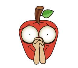 Bizarre Apple sticker #794015