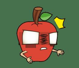 Bizarre Apple sticker #794018