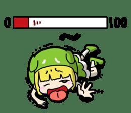 That is doroicochan. sticker #794540