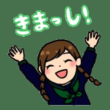 high-school students' Life in Kanazawa sticker #794599