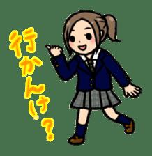 high-school students' Life in Kanazawa sticker #794600