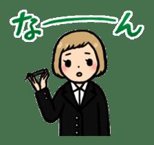 high-school students' Life in Kanazawa sticker #794604