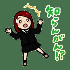 high-school students' Life in Kanazawa sticker #794606