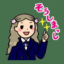 high-school students' Life in Kanazawa sticker #794612