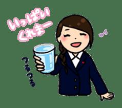 high-school students' Life in Kanazawa sticker #794629