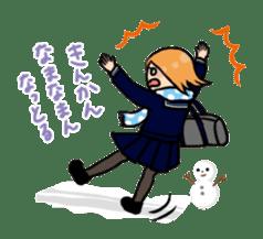 high-school students' Life in Kanazawa sticker #794638