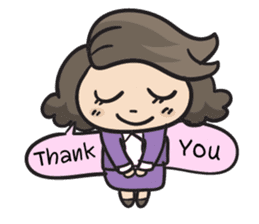 Giffy the office lady sticker #794999