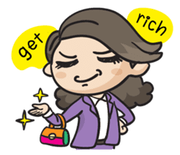 Giffy the office lady sticker #795007