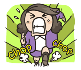 Giffy the office lady sticker #795012