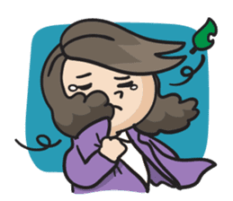 Giffy the office lady sticker #795025