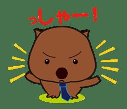 Mr. Wombat's Daily Life sticker #795040