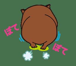Mr. Wombat's Daily Life sticker #795042