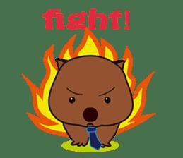 Mr. Wombat's Daily Life sticker #795043