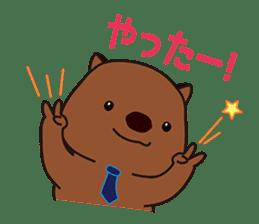 Mr. Wombat's Daily Life sticker #795053