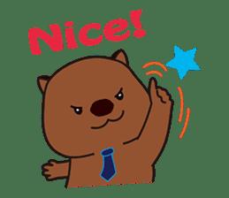 Mr. Wombat's Daily Life sticker #795061