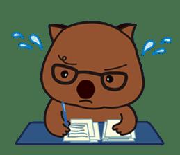 Mr. Wombat's Daily Life sticker #795062