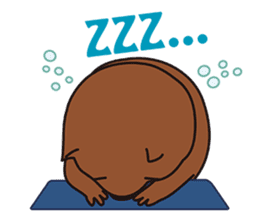 Mr. Wombat's Daily Life sticker #795073