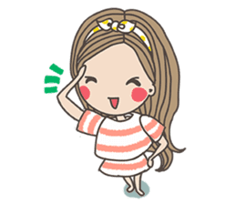 Miss DAISY sticker #795225