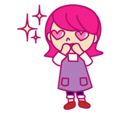 A mom does her best with an apron figure sticker #795367